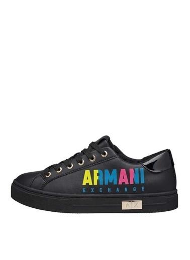 Armani Exchange Armani Exchange Kadın Siyah Sneaker Siyah